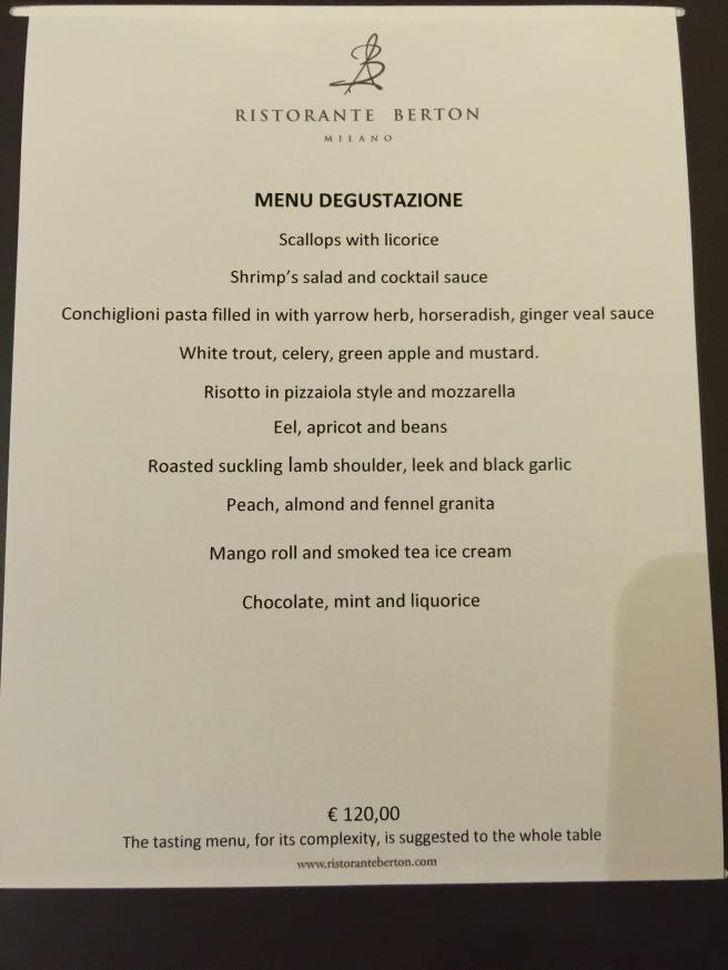 tasting menu #2
