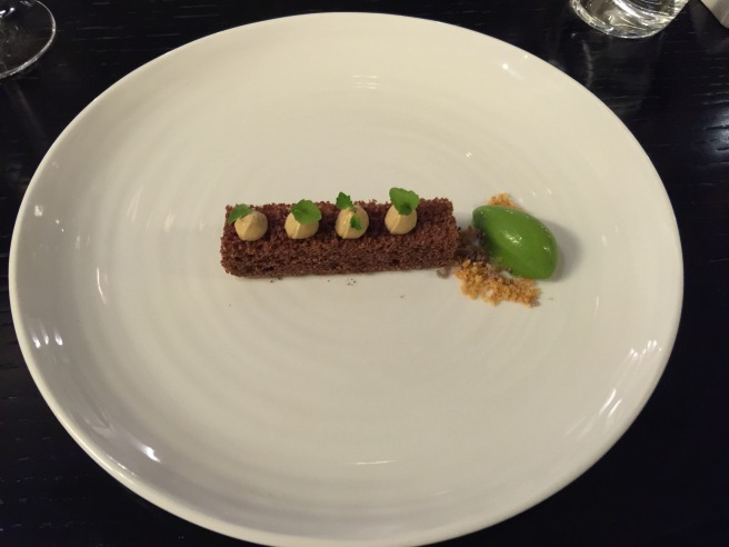 Chocolate, mint and liquorice