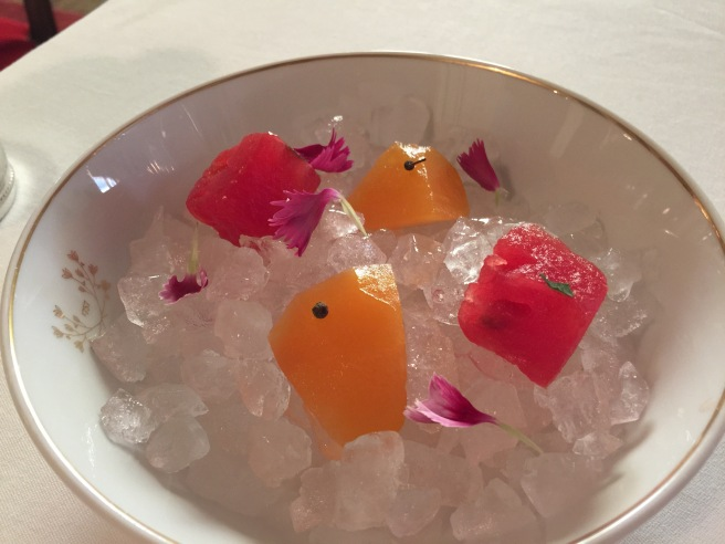 compressed fruit to start