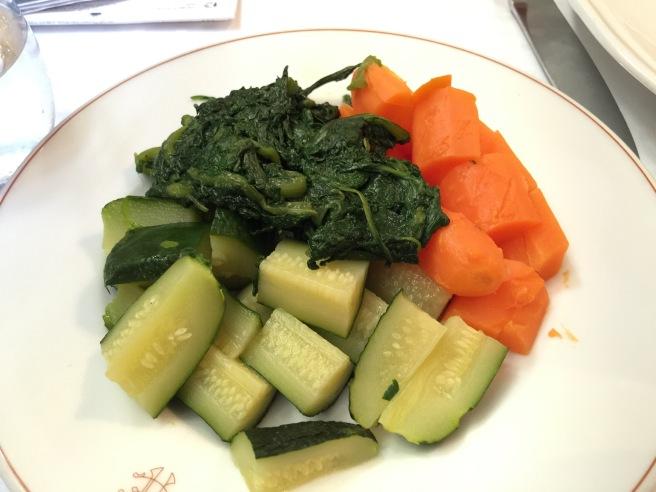 Side vegetables