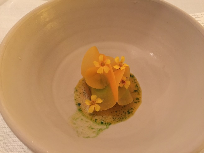 Parsley and sea buckthorn