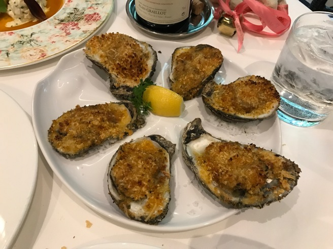 Roasted Gulf Oysters