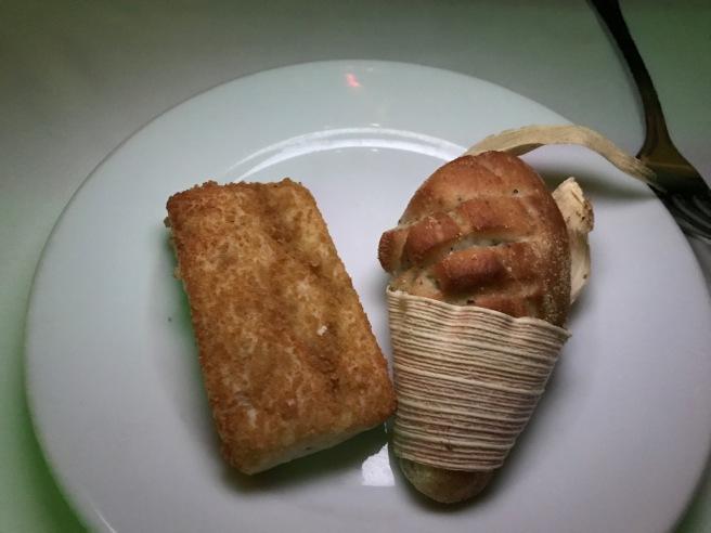 crisp and corn bread