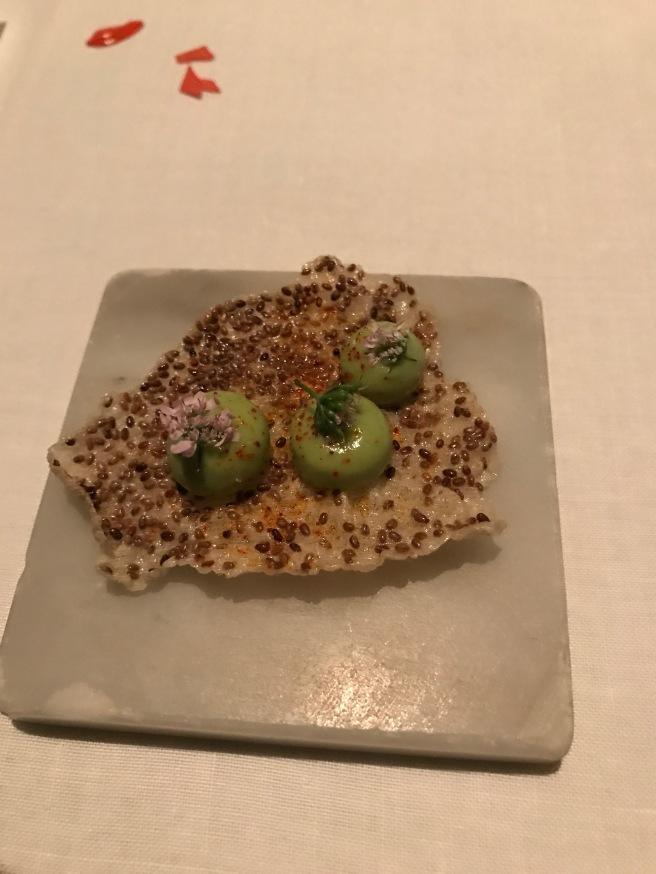 Milpera squash chileatole, mulato chile
