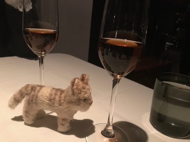 After dinner wine