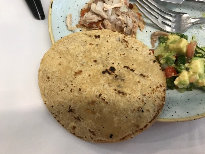fresh, warm tortillas