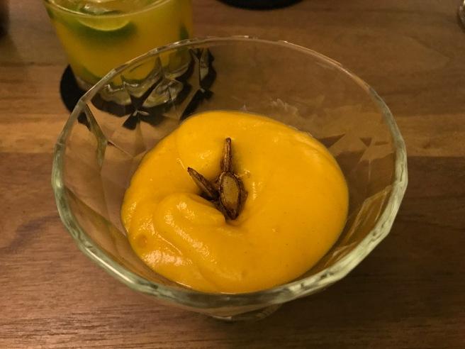 Tangerine foam