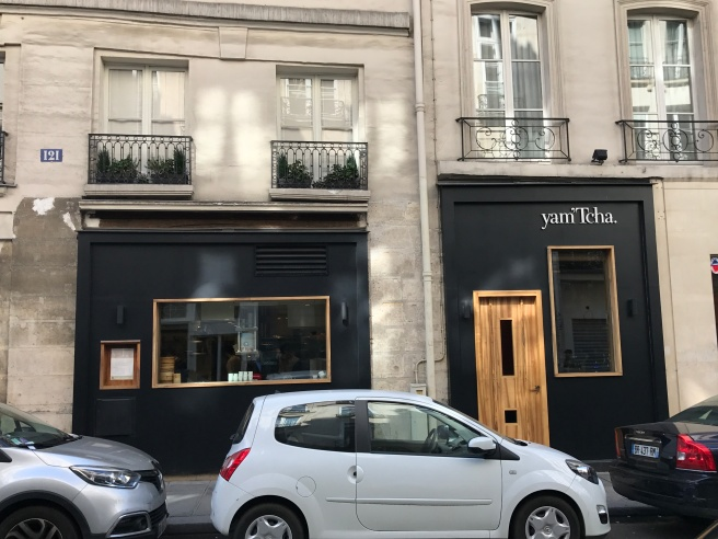Tcha Paris restaurant yam 'tcha, paris, 3/25/17 | dining with frankie