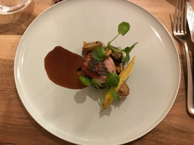 lamb roll with foie gras