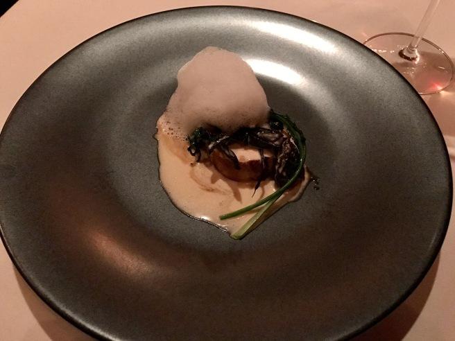 Cornish Hen: Sous vide with 3 sauces
