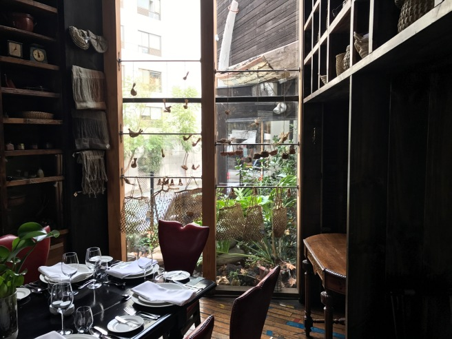 end of private dining room