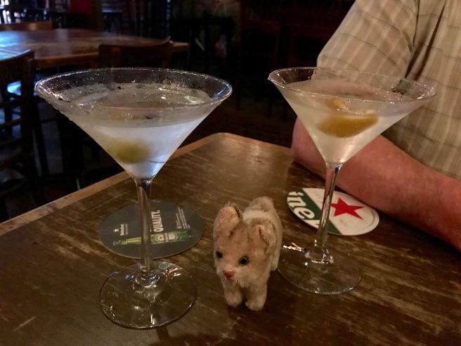 Frankie likes martinis