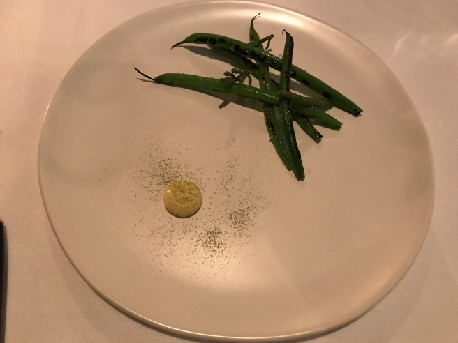 green beans and seabeans