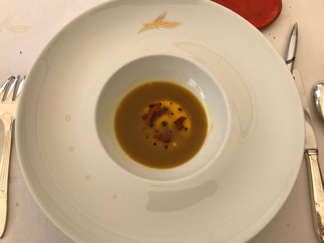 Bouillabaisse inspiration, first service