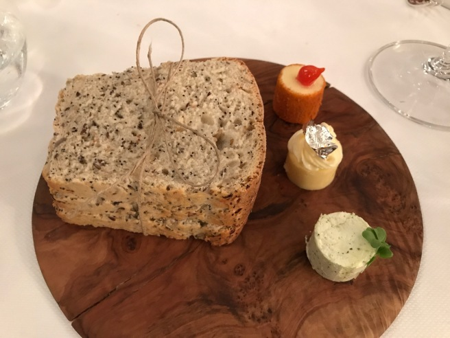 Cape seed loaf with butter from Beillevaire