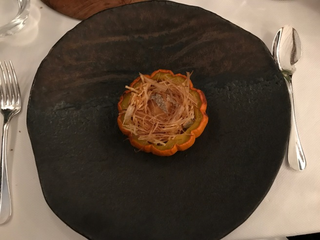 Rooibos, ratte potato, organic egg, caviar