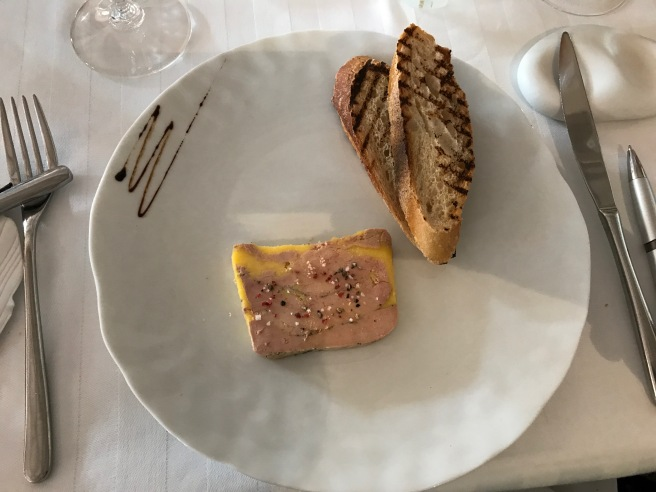 Foie gras of duck, natural in a terrine