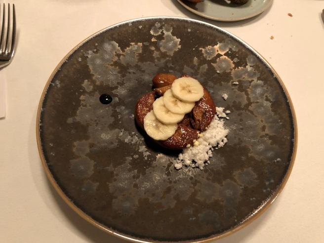 Foie gras/ banana