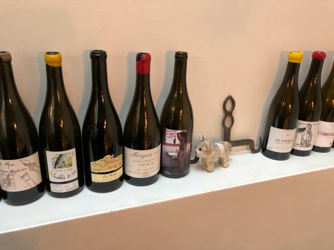 Frankie found some wines