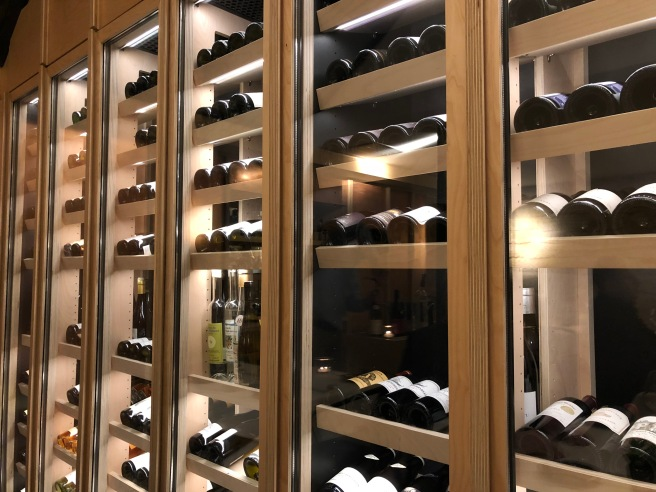 wine rack wall