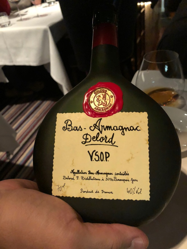 after dinner Armagnac