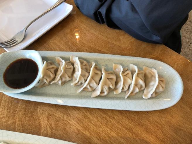 Chicken with mushrooms steamed dumpling