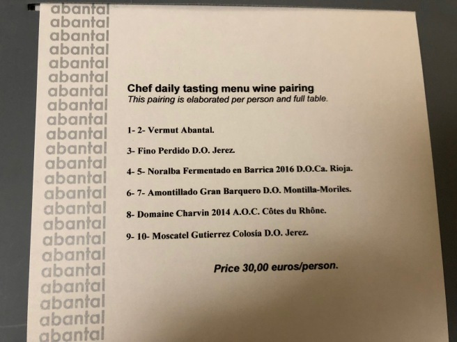chef daily wine pairing