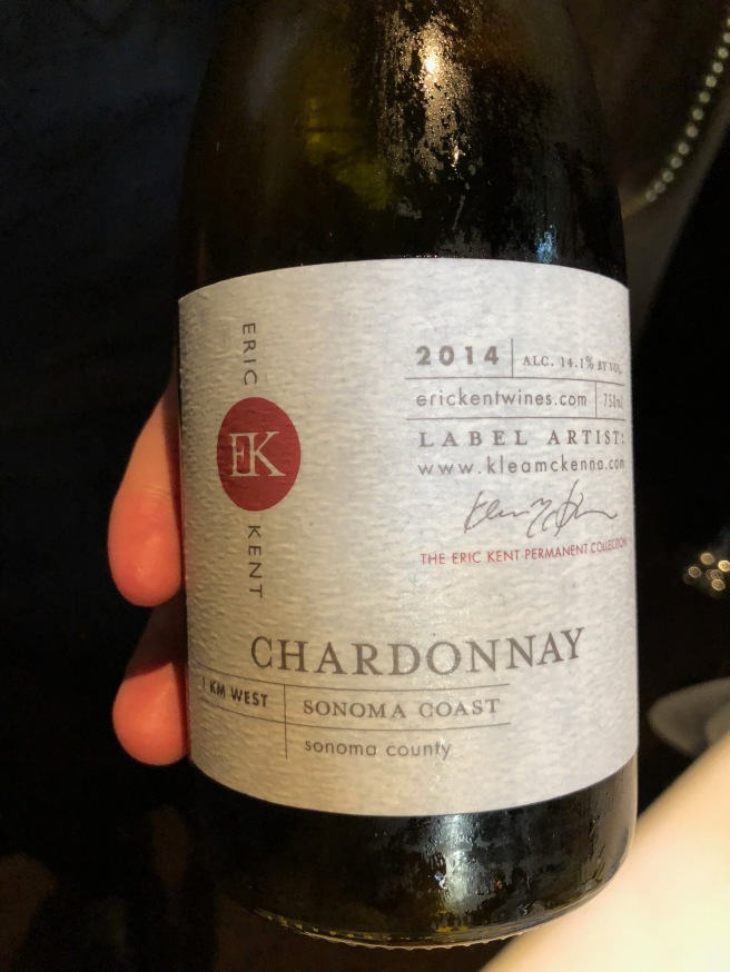 First wine pairing