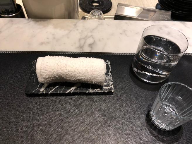 moist towel