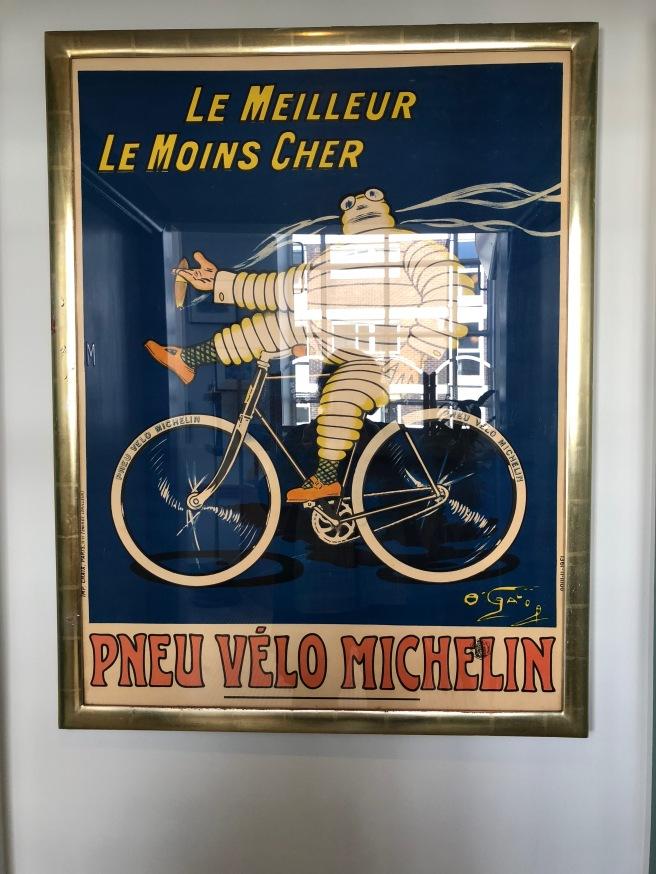 more Michelin art