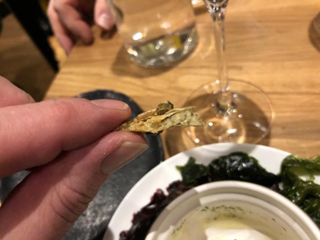 inside cracker