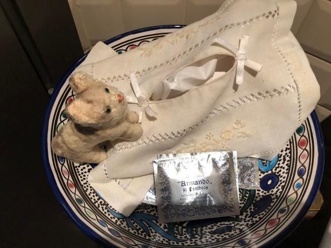 Frankie loved the tissue box holder