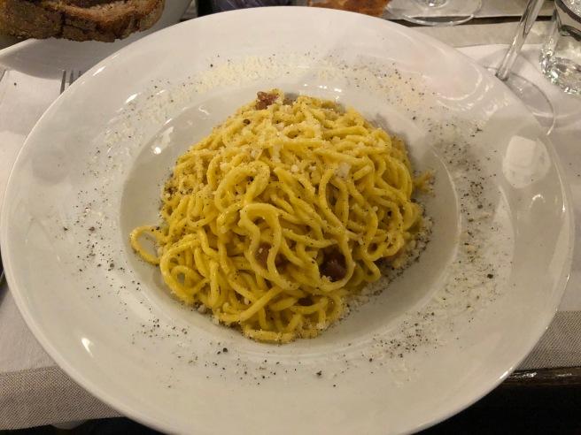 grecia with fresh pasta