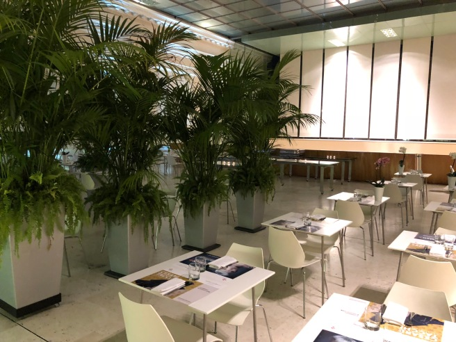 lunch dining area