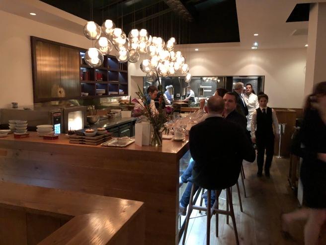 dessert bar and kitchen