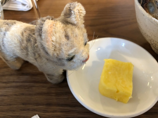 Frankie thought the butter was a great yellow