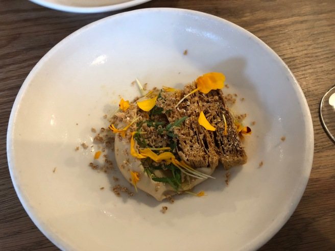 Marmalade, brown butter and marigold