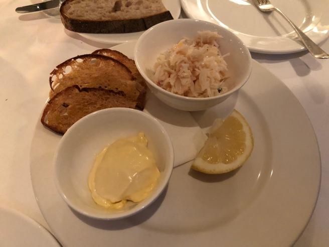 crab and mayonnaise