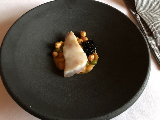 Tilefish and chickpea