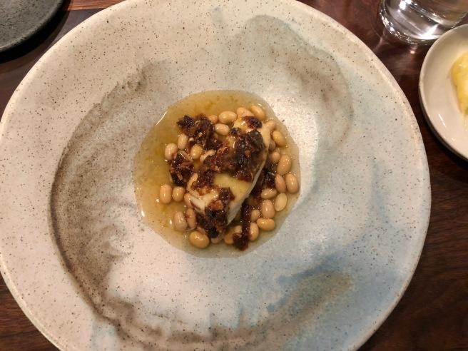 Halibut - soybean, chili