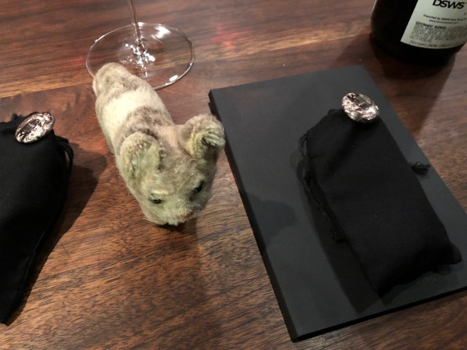 Frankie found a gift