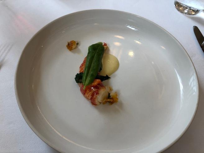 Lobster presentation