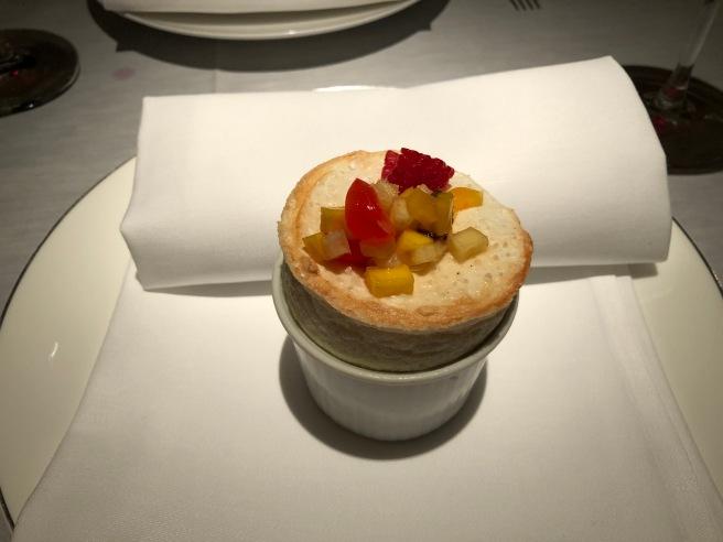 Cream cheese - Soufflé - strawberry brandy
