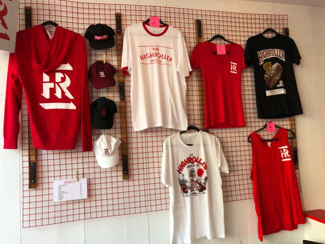 Merchandise for sale