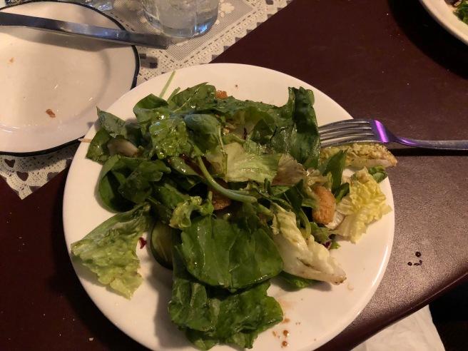 half salad