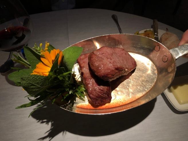 Swiss Prime Beef: flat iron steak