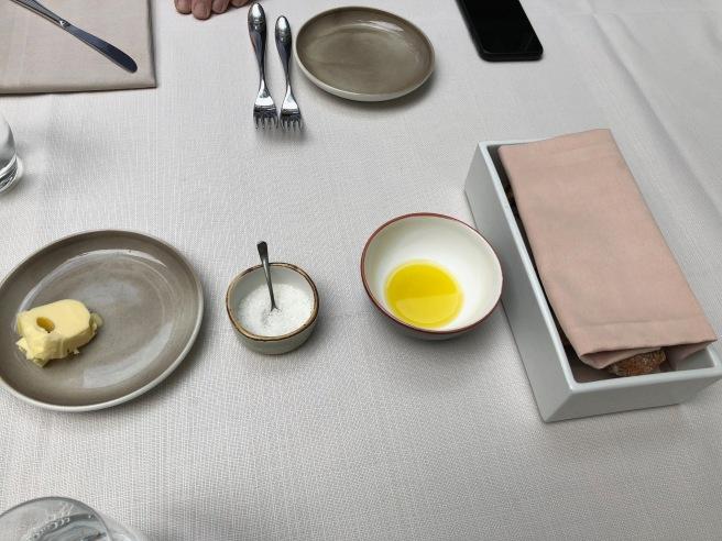 butter, salt, oil, bread