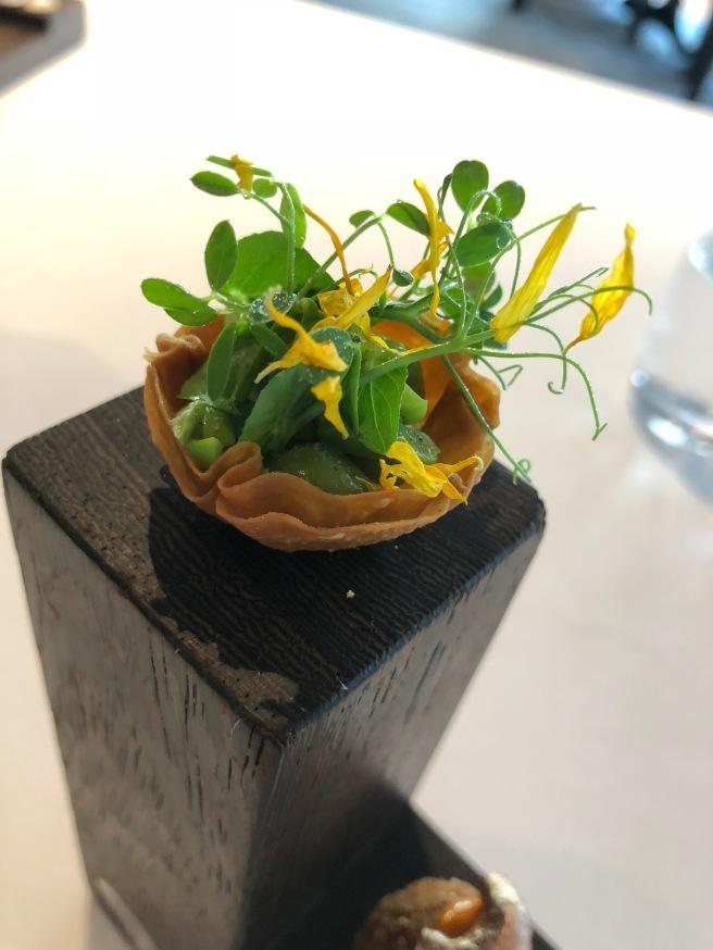 Istanbul: garden peas, goat yogurt and mint