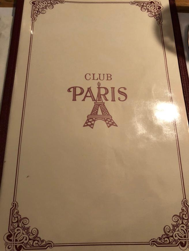 menu cover