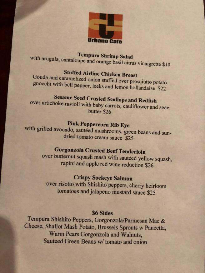 menu - specials